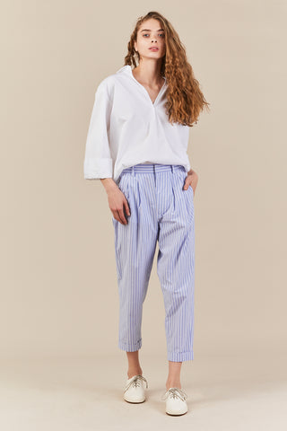 cotton stripe pants