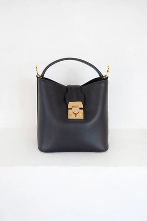 murphy small bucket bag, black