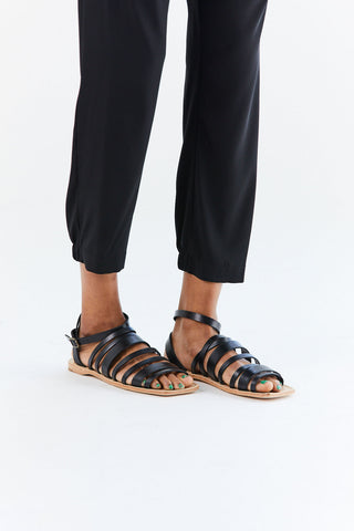 Costa Sandal, Black
