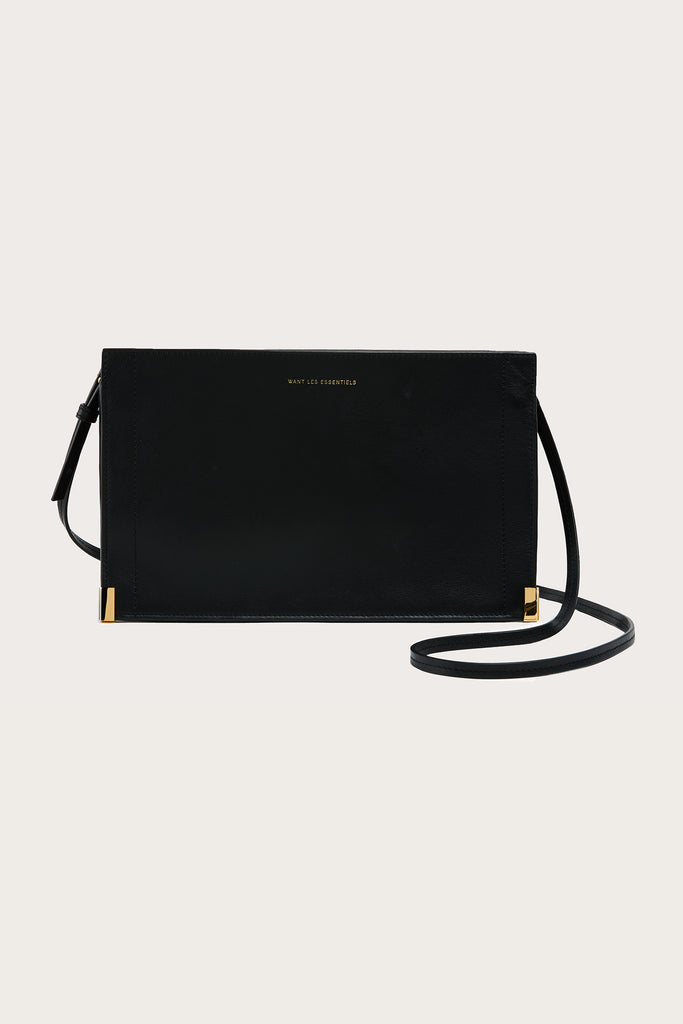 Mini Marin shoulder bag, Black