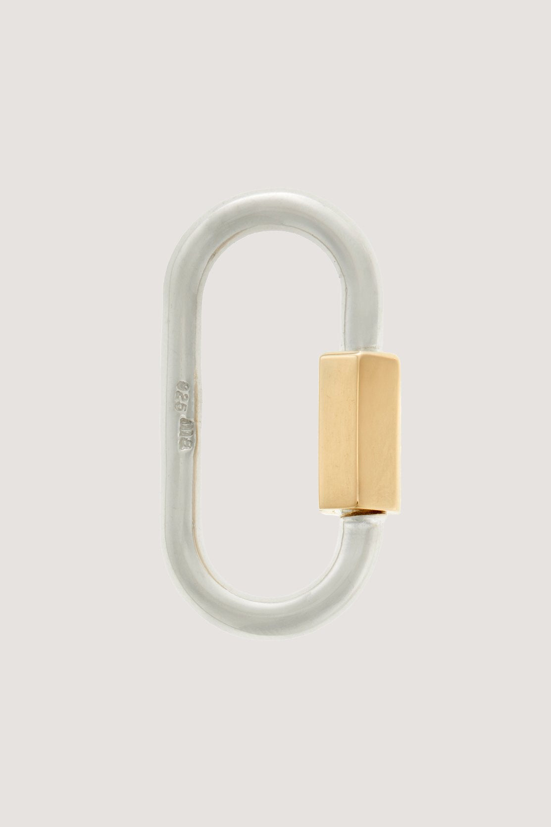 Marla Aaron - Regular lock, Silver & Gold