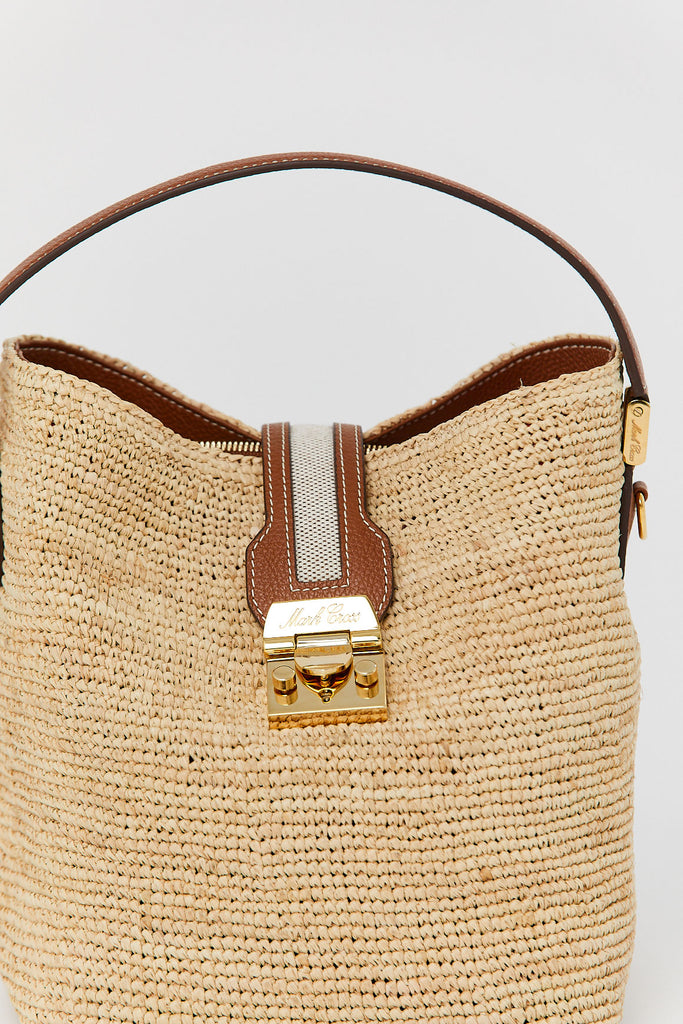 Mark Cross - Raffia Murphy Bag