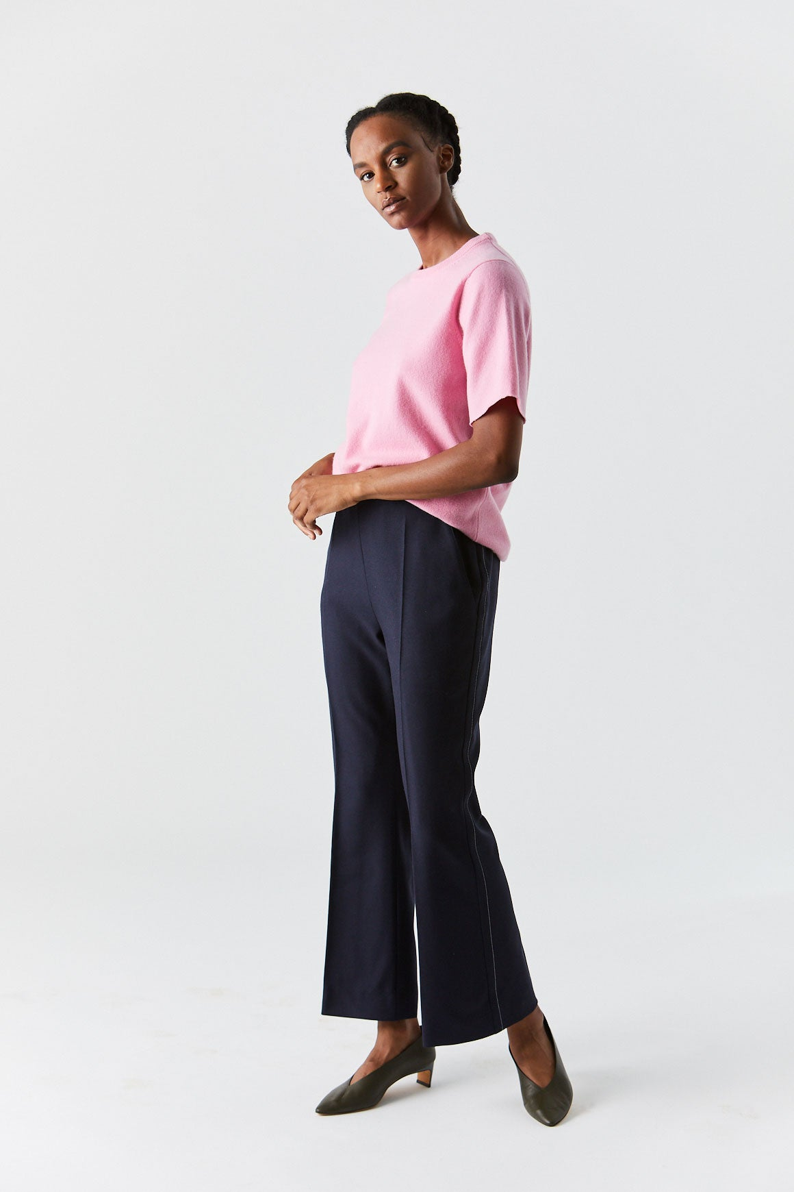 MARNI - Button Trouser, Navy