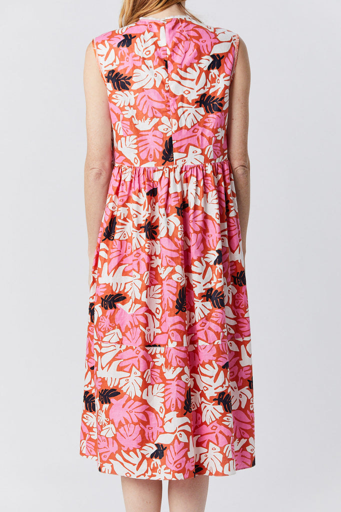 MARNI - Sleeveless Dress, Flower Print