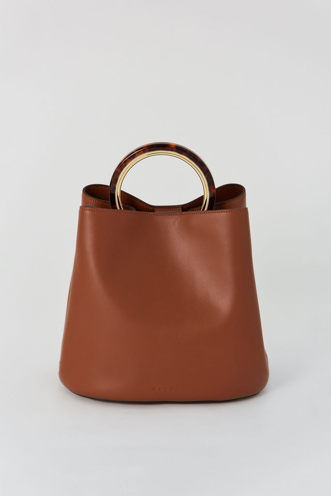 MARNI - Pannier Bag, Brown