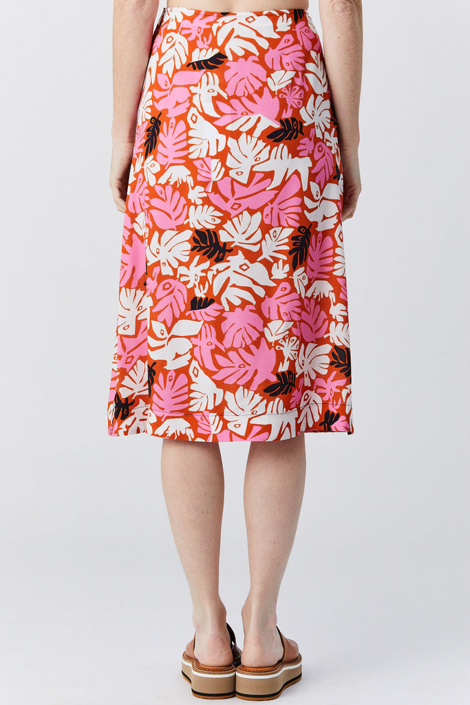 MARNI - Skirt, Leaves Print