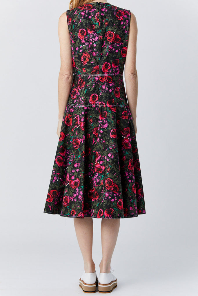 MARNI - Sleeveless Dress, Floral Print