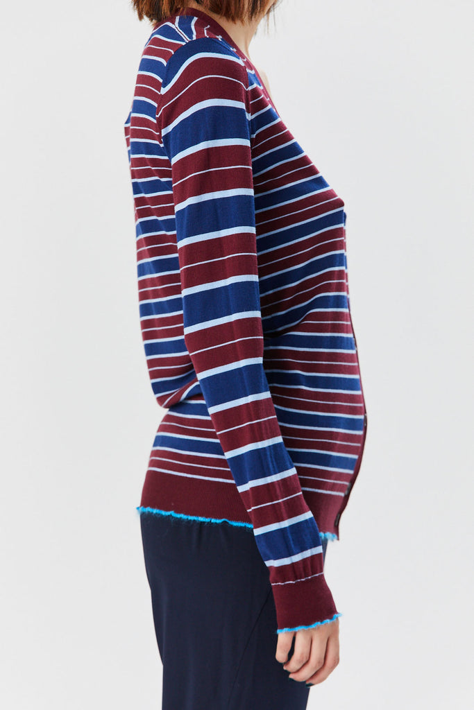 Marni - Striped Cardigan