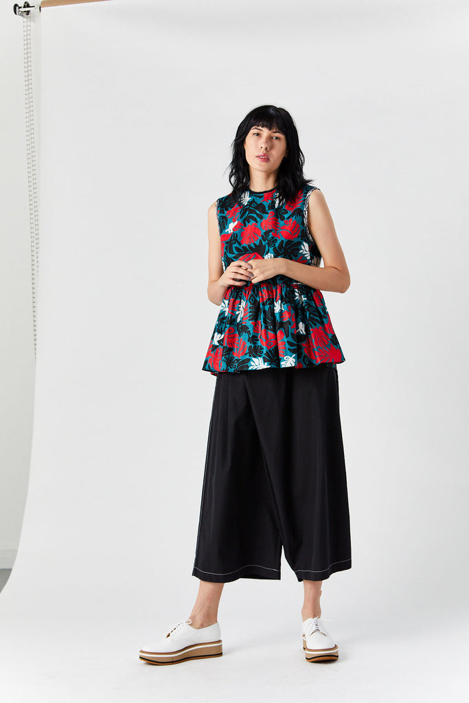 MARNI - Tank Top, Leaf Print