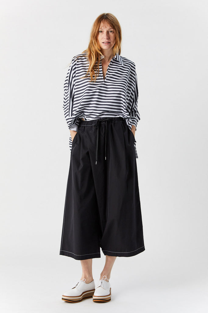 Wide Leg Trouser, Black