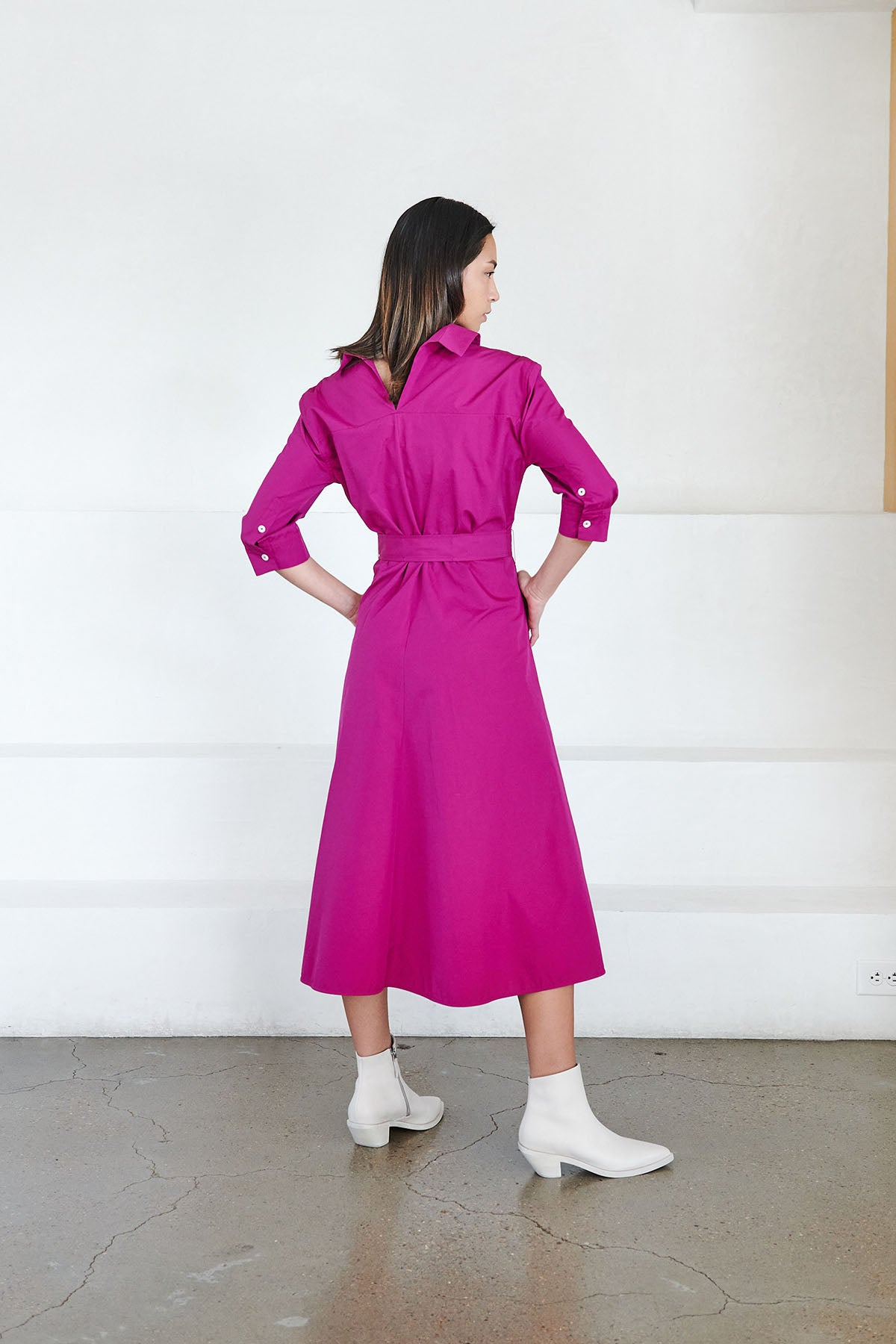 MARNI - belted dress, lavender