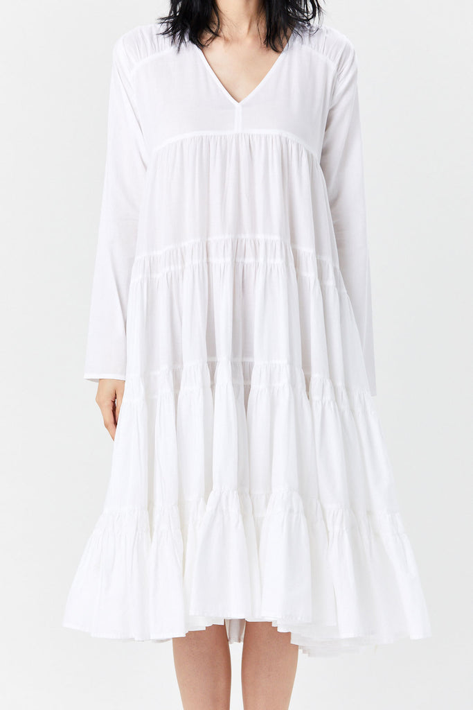 MERLETTE - Rodas Dress, White