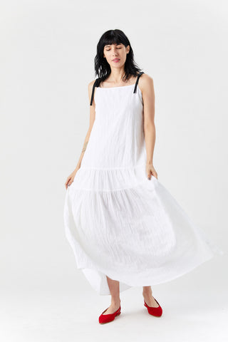 Deia Dress, White