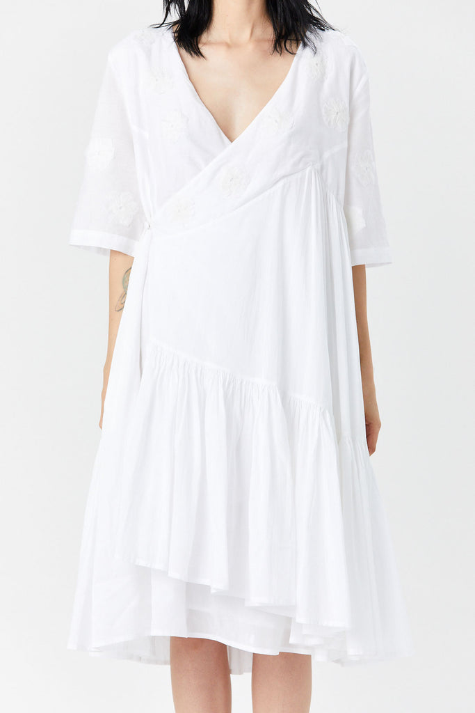 MERLETTE - Aronia Dress, White