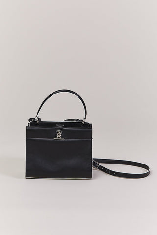Honore Satchel, Black & White
