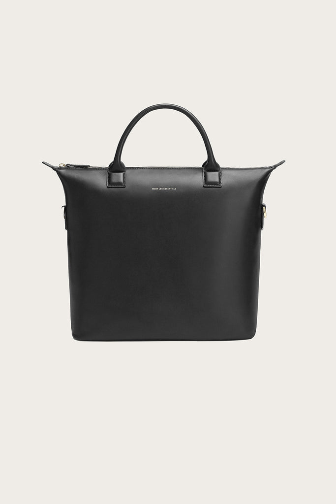 Mirabel Shopper Tote, Jet Black