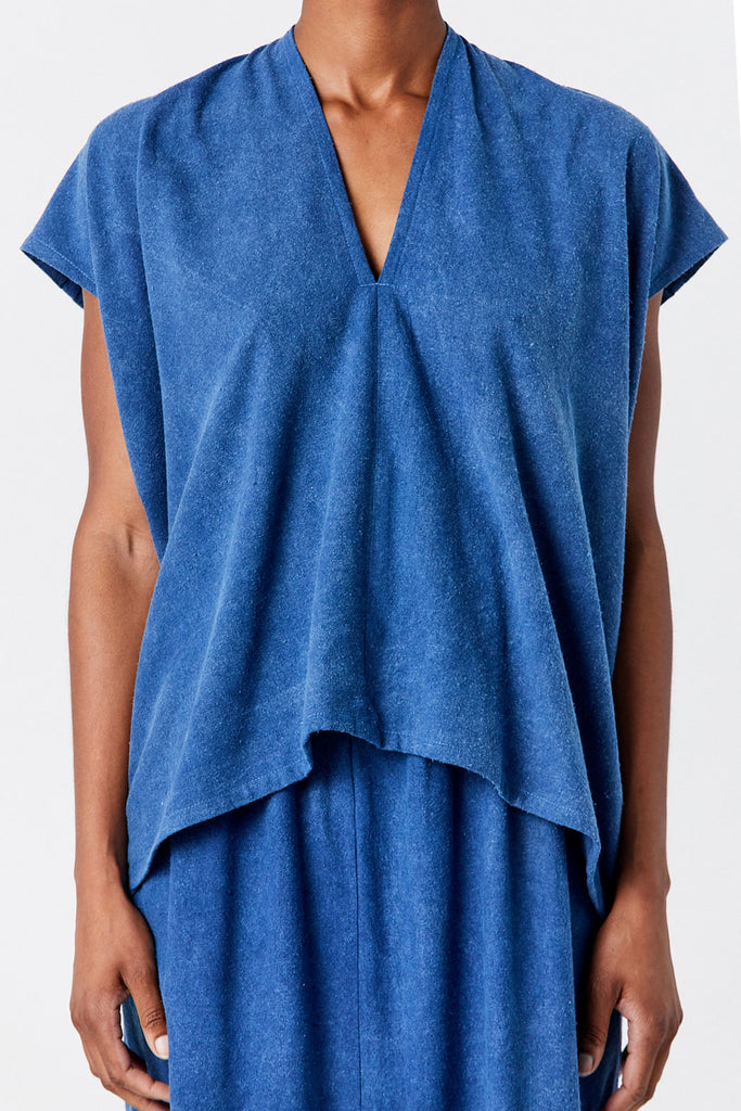 MIRANDA BENNETT - Everyday Top, Blue