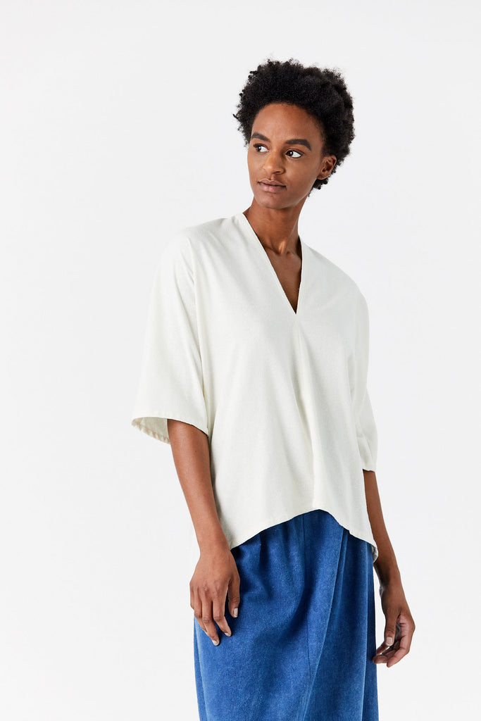 Muse Top, Ivory
