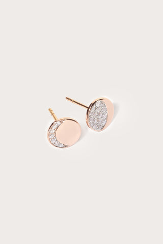 Moon phase mismatched studs