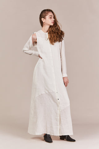 DAGA silk linen dress