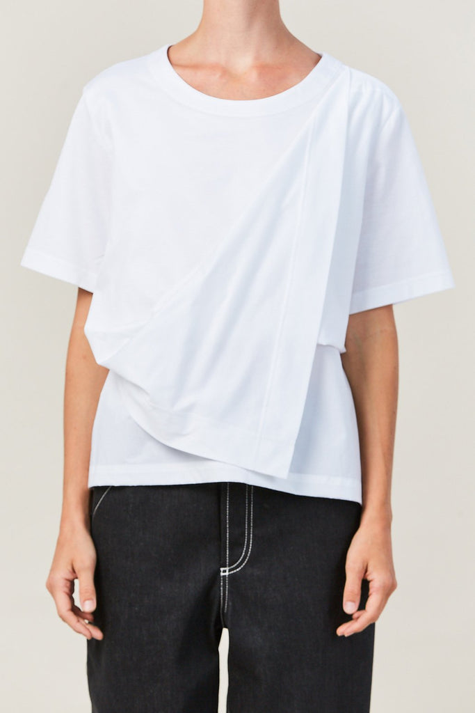 Nehera - TATRY draped t shirt
