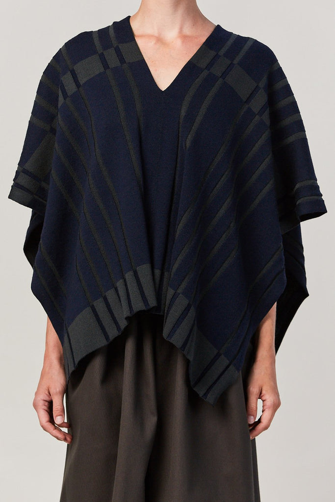 Nehera - KAMEN v neck draped sweater