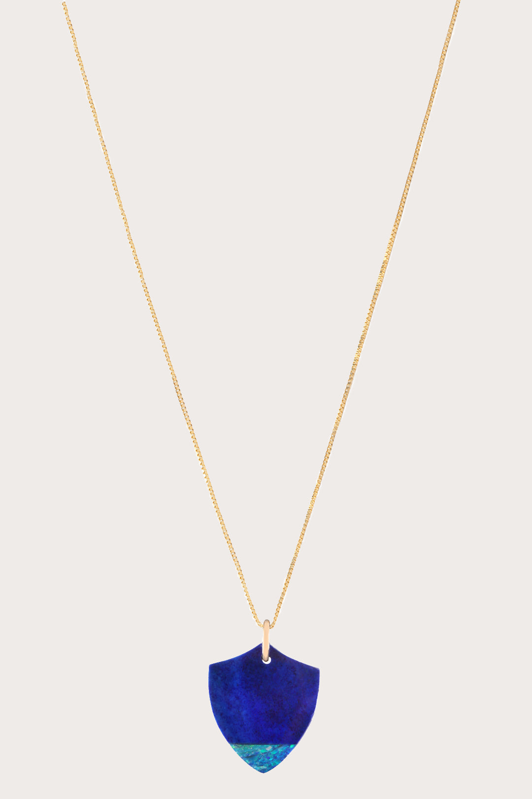 Clark Heldman - Night Ocean Crest Medium necklace