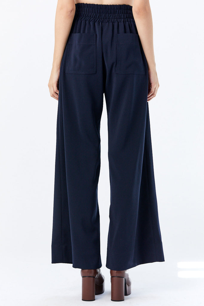 Nomia - Split Hem Culottes, Midnight