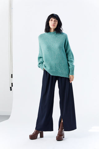 Split Hem Culottes, Midnight