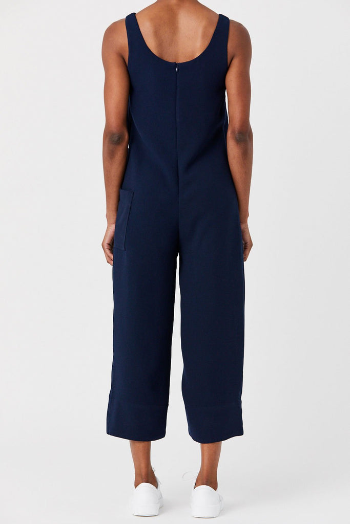 Nomia - Wide Leg Jumpsuit, Navy