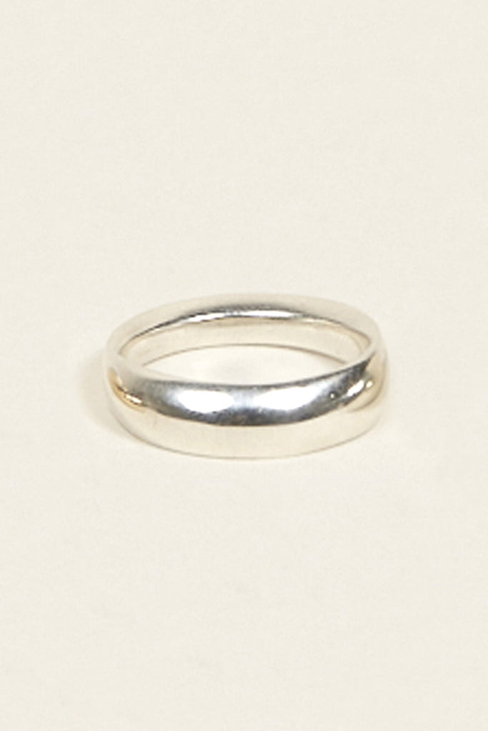 Odell Ring No. 1 Narrow Silver by URSA MAJOR @ Kick Pleat - 2