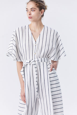 Dana Jumpsuit, Striped