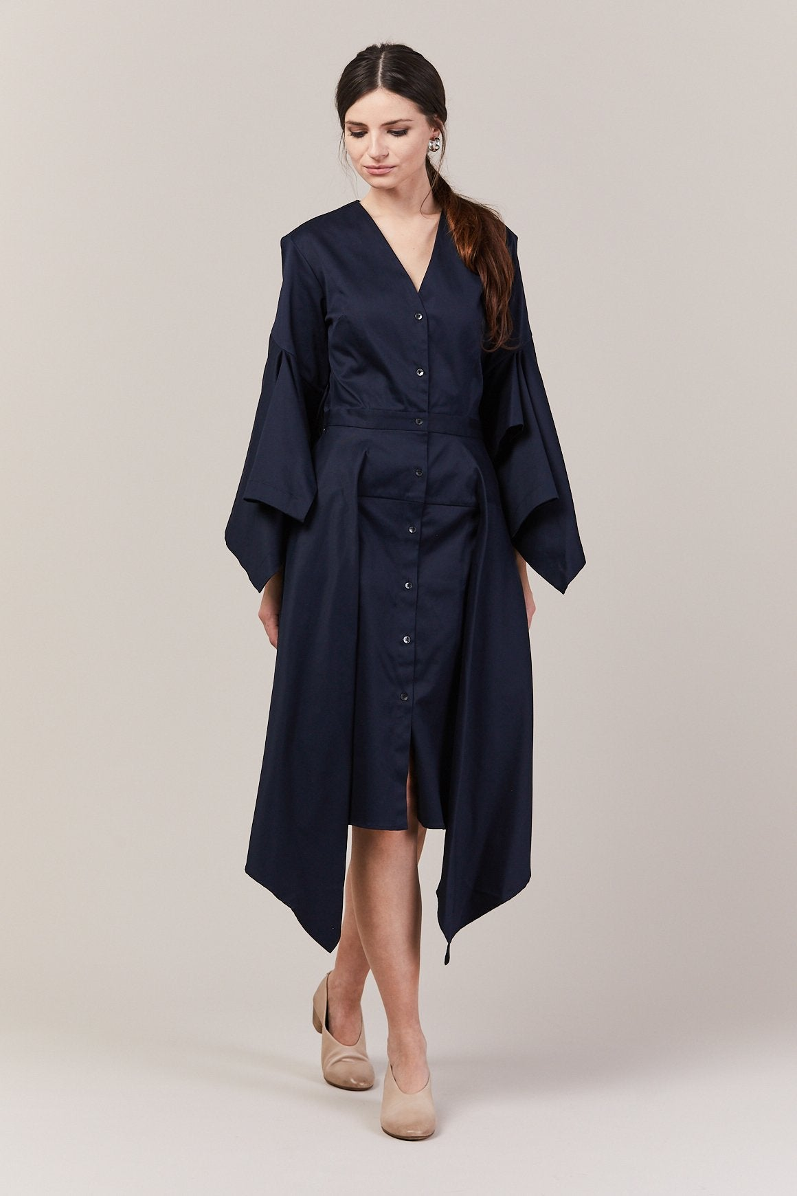 Sail Dress, Midnight