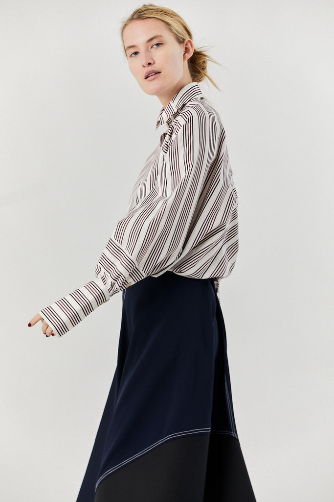 Solo Shirt, Berry Stripe