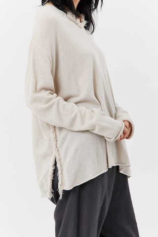 Knit Pullover, Beige