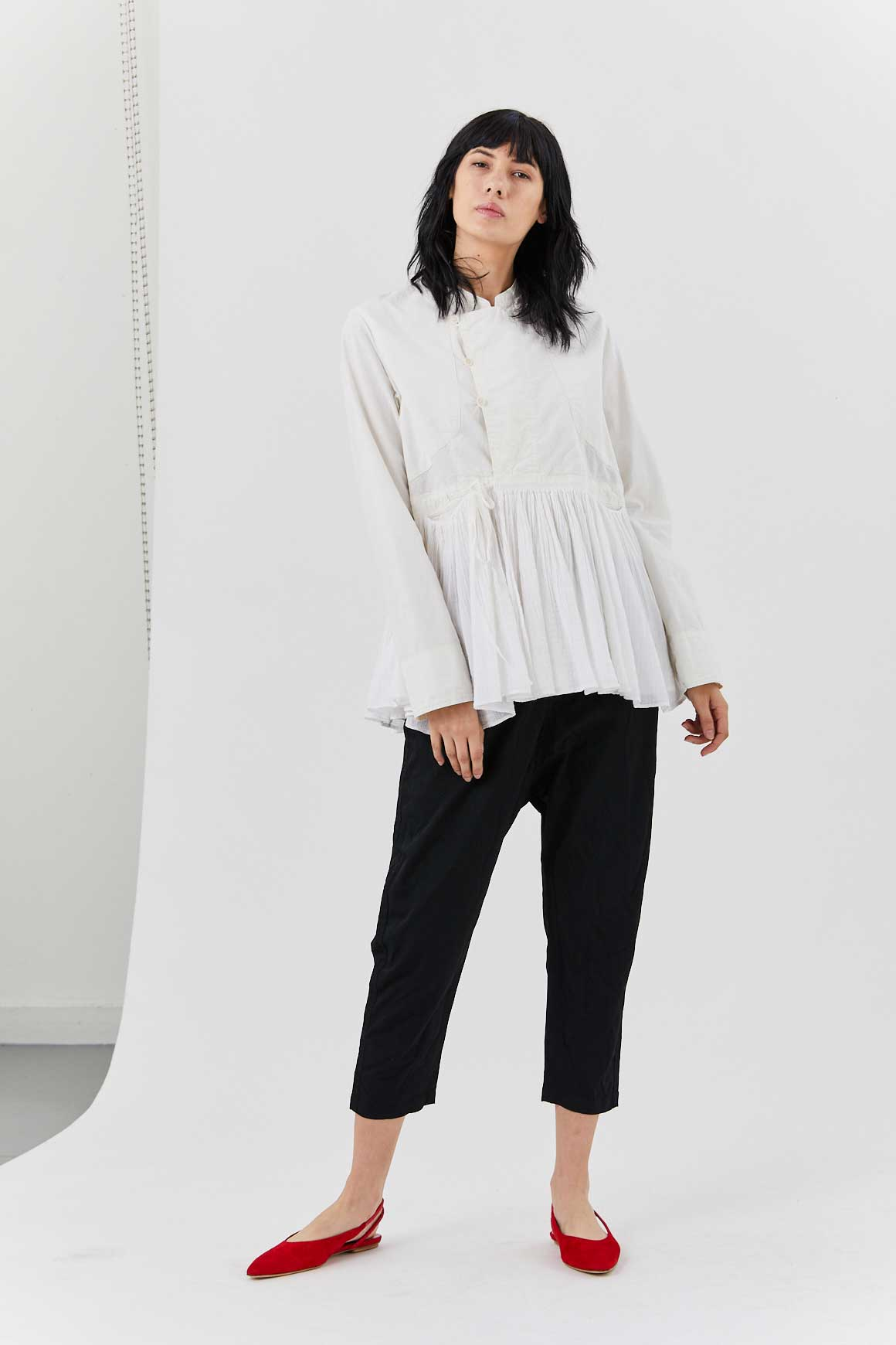 pas de calais - Blouse Jacket, White