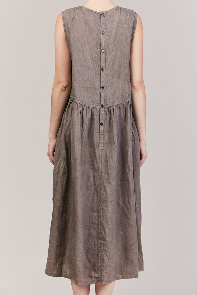 pas de calais - Sleeveless Dress, Grey