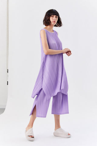 Pleated Dress, Lavender