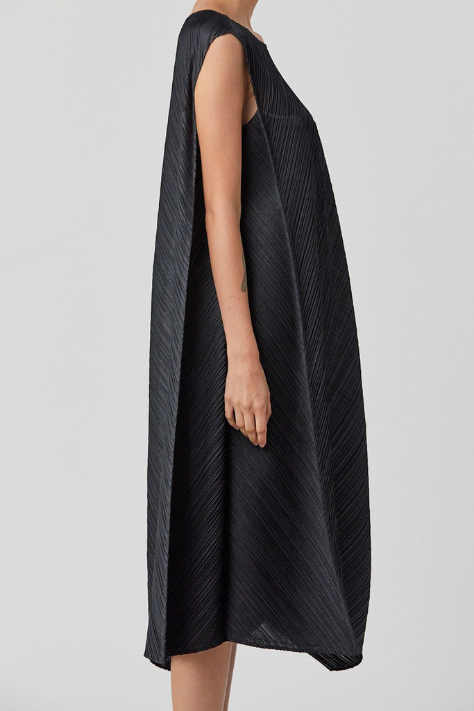 Pleats Please by Issey Miyake - Flow Dress, Black