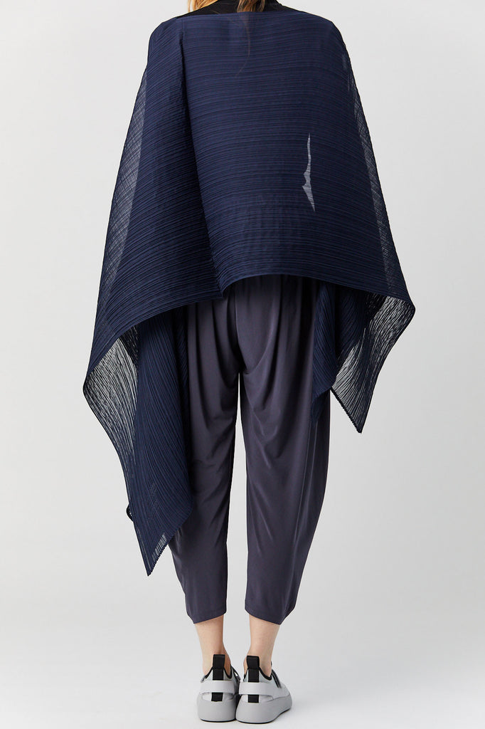 Pleats Please by Issey Miyake - Madame T Scarf, Blue