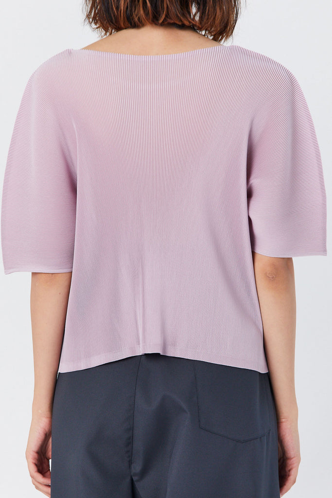 Mist Short Sleeve Top, Mauve