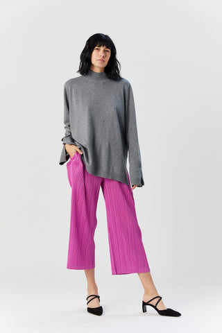 Pleated Pants, Pink