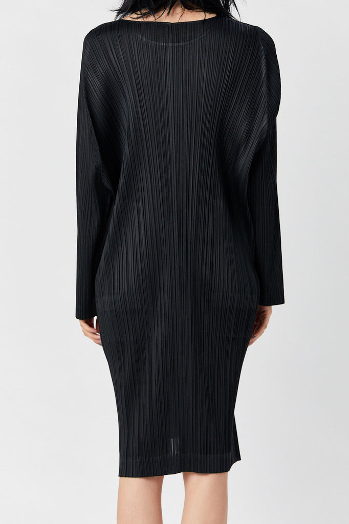 Pleats Please by Issey Miyake - Pleated Tunic, Black
