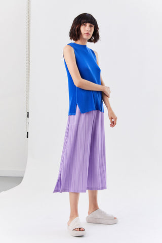 Pleated Tunic, Blue