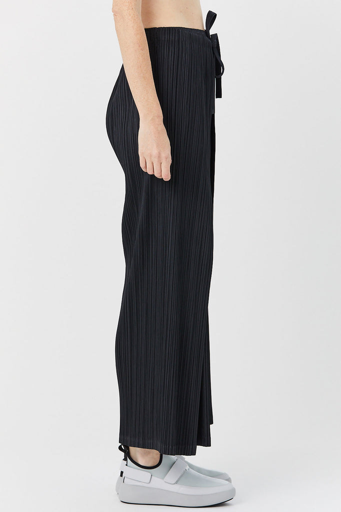 Pleats Please by Issey Miyake - Thicker Bottom Pants, Black