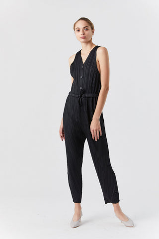 Thicker Bounce Jumpsuit, Black