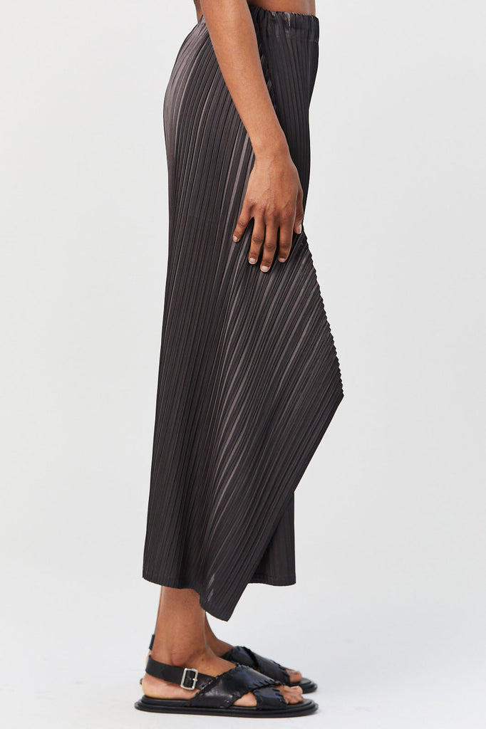 Pleats Please by Issey Miyake - Alt Reflection Pants, Black