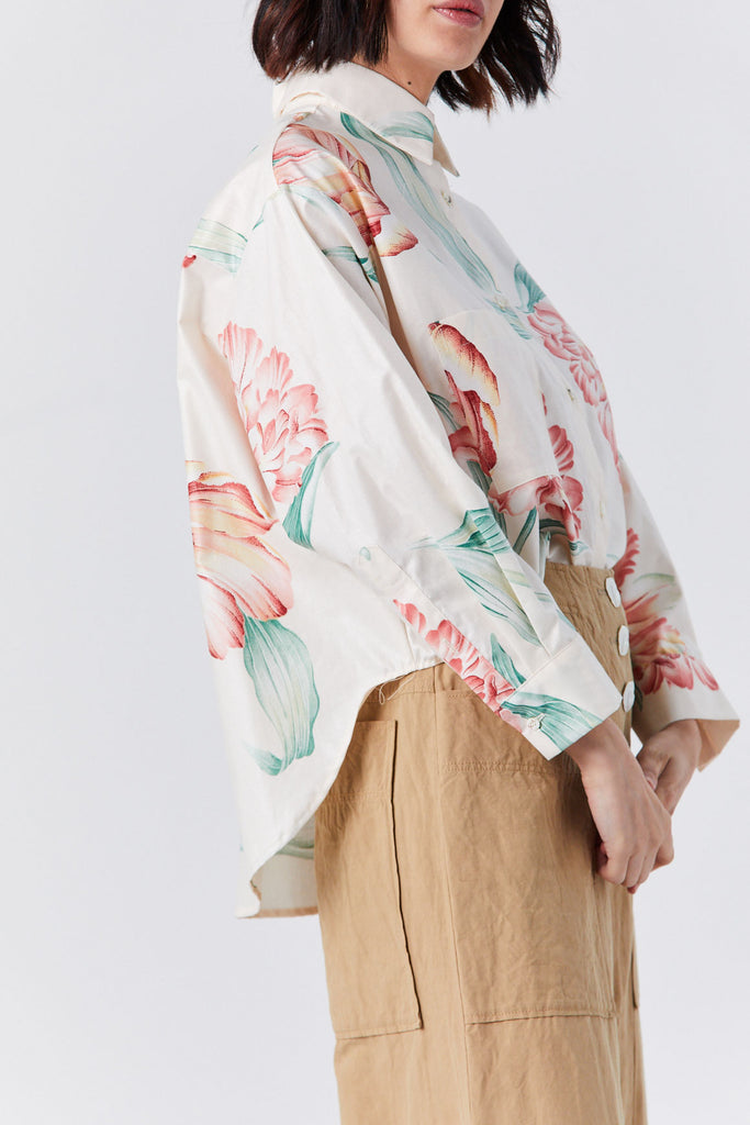 Priory - Cabb Shirt, Floral