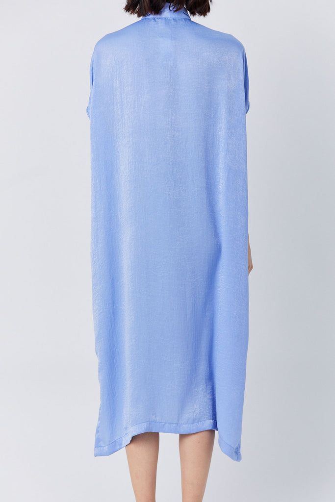 Priory - Placket Dress, Cinderella Blue