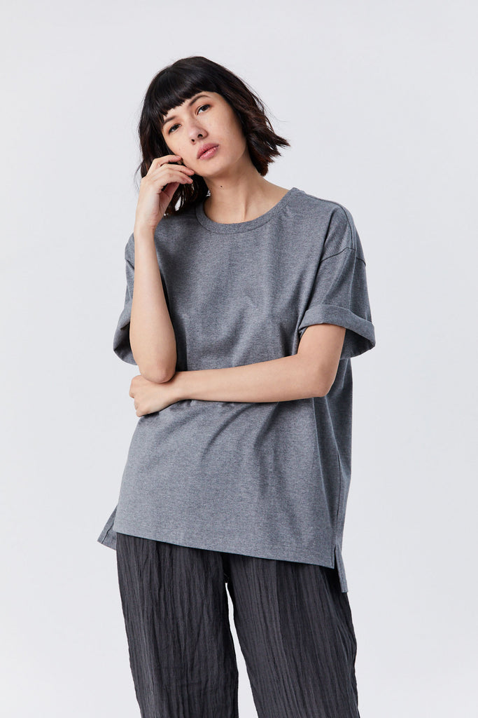 Priory - Ultra Jersey Tee, Grey